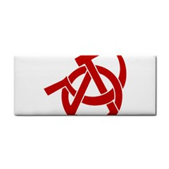 Hammer Sickle Anarchy Hand Towel