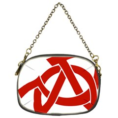 Hammer Sickle Anarchy Chain Purse (One Side)