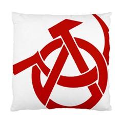 Hammer Sickle Anarchy Cushion Case (Single Sided)