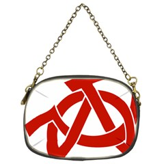 Hammer Sickle Anarchy Chain Purse (Two Sided)