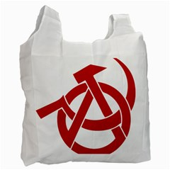 Hammer Sickle Anarchy Recycle Bag (Two Sides)