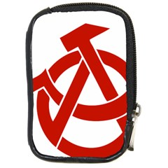 Hammer Sickle Anarchy Compact Camera Leather Case