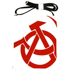 Hammer Sickle Anarchy Shoulder Sling Bag