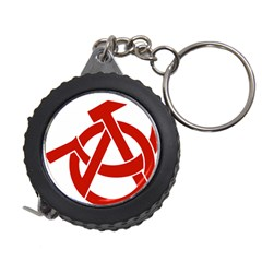 Hammer Sickle Anarchy Measuring Tape