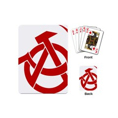 Hammer Sickle Anarchy Playing Cards (Mini)