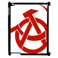 Hammer Sickle Anarchy Apple iPad 2 Case (Black)