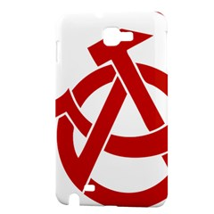 Hammer Sickle Anarchy Samsung Galaxy Note 1 Hardshell Case