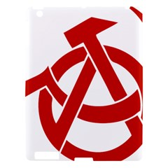 Hammer Sickle Anarchy Apple Ipad 3/4 Hardshell Case