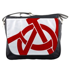 Hammer Sickle Anarchy Messenger Bag