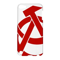 Hammer Sickle Anarchy Apple iPod Touch 5 Hardshell Case