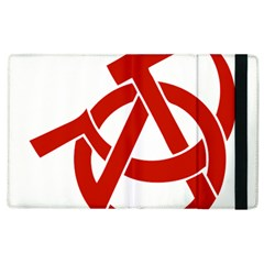 Hammer Sickle Anarchy Apple iPad 2 Flip Case