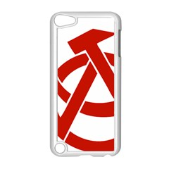 Hammer Sickle Anarchy Apple Ipod Touch 5 Case (white)
