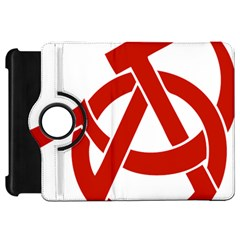 Hammer Sickle Anarchy Kindle Fire Hd 7  Flip 360 Case