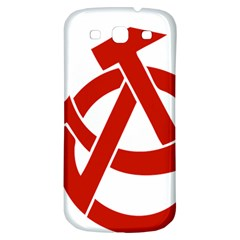 Hammer Sickle Anarchy Samsung Galaxy S3 S III Classic Hardshell Back Case