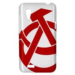 Hammer Sickle Anarchy HTC Desire VT T328T Hardshell Case