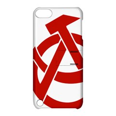 Hammer Sickle Anarchy Apple Ipod Touch 5 Hardshell Case With Stand