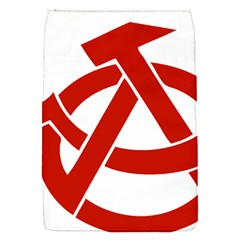 Hammer Sickle Anarchy Removable Flap Cover (Small)