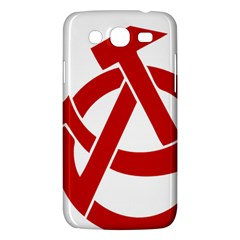 Hammer Sickle Anarchy Samsung Galaxy Mega 5 8 I9152 Hardshell Case
