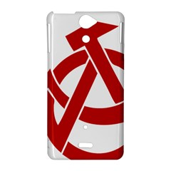 Hammer Sickle Anarchy Sony Xperia V Hardshell Case