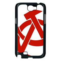 Hammer Sickle Anarchy Samsung Galaxy Note 2 Case (Black)