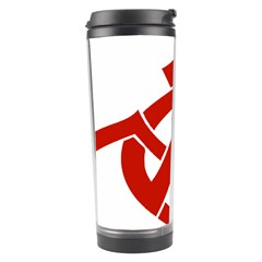Hammer Sickle Anarchy Travel Tumbler