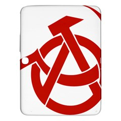 Hammer Sickle Anarchy Samsung Galaxy Tab 3 (10.1 ) P5200 Hardshell Case