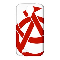 Hammer Sickle Anarchy Samsung Galaxy S4 Classic Hardshell Case (PC+Silicone)