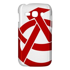 Hammer Sickle Anarchy Samsung Galaxy Ace 3 S7272 Hardshell Case