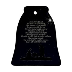 Reason For The Season Bell Ornament (two Sides)