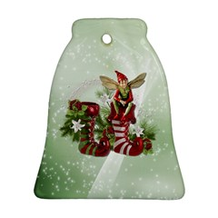 Feeling Elfy Bell Ornament (two Sides)