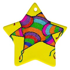La Panata Star Ornament (two Sides)