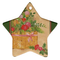 oil painting Star Ornament (Two Sides)