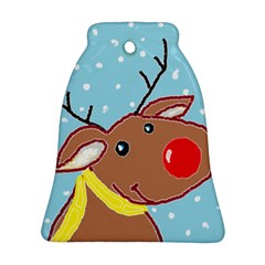 Red Nosey Bell Ornament