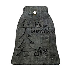 Concrete Christmas Bell Ornament