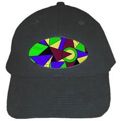Modern Black Baseball Cap