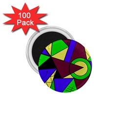 Modern 1 75  Button Magnet (100 Pack)