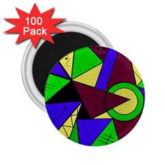 Modern 2.25  Button Magnet (100 pack)