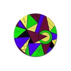 Modern Magnet 3  (Round)