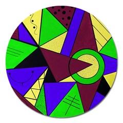 Modern Magnet 5  (Round)
