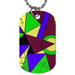 Modern Dog Tag (One Sided)