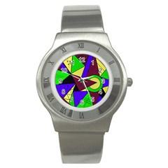 Modern Stainless Steel Watch (unisex)