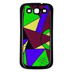 Modern Samsung Galaxy S3 Back Case (Black)