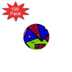 Modern Art 1  Mini Button (100 Pack)