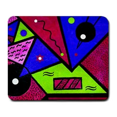 Modern Art Large Mouse Pad (rectangle)