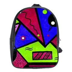 Modern Art School Bag (Large)
