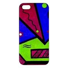 Modern Art iPhone 5S Premium Hardshell Case