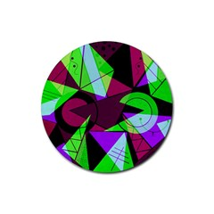 Modern Art Drink Coasters 4 Pack (round)