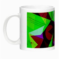 Modern Art Glow in the Dark Mug