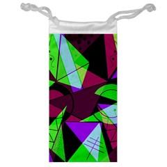 Modern Art Jewelry Bag