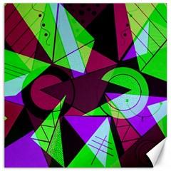 Modern Art Canvas 12  X 12  (unframed)